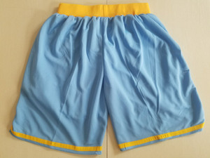 2018 New Shorts Team Shorts Baseketball Shorts Running Sports Clothes Sky Blue Color Size S-XL Mix Match Order High Quality