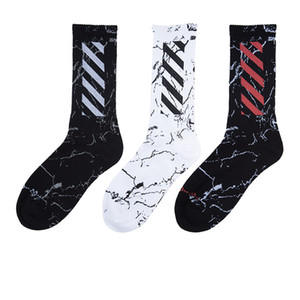 Wholesale Tide Brand Harajuku Style Striped sock High Street Sport Socks Brand Happy Socks Male s Fashion Personality High Quality