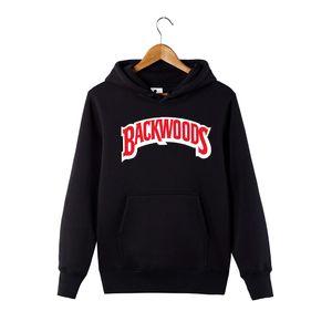 c44ddf20ec7b Wholesale Winter Autumn Backwoods Hoodie Black White Gray Hoodie Backwoods  Long Sleeve Hip Hop Designer Sweatshirts