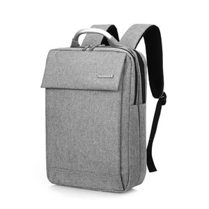 "Unisex Vogue Backpack Solid Waterproof Nylon Men School Shoulder Bag Multifunction Female & Male 14""15"" Laptop Women Daypack"