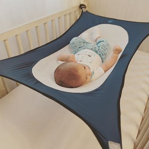 Wholesale stretch baby hammock for cribs Detachable baby Sleeping bed cot bed infant cribs newborn Elastic Hammock With Adjustable Net