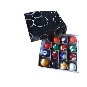 Wholesale Kids Normal Color MM POOL BALLS For Home Use Table Promotional Gift and Mini Game Billiard Pool Balls
