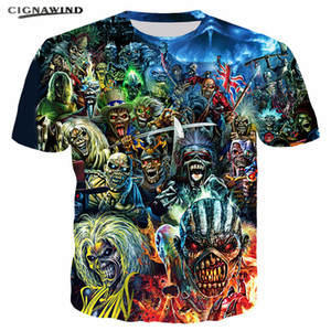 Wholesale Harajuku Style Killers series Funny t shirts D Printed women men t shirts Fashion Hip hop short sleeve Summer tops