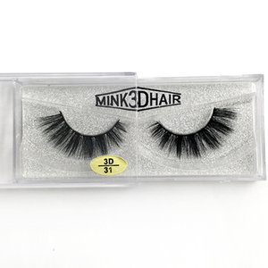 Wholesale natural looking makeup resale online - Thick D mink lashes natural look handmade reusable false eyelashes makeup accessories soft and vivid mink hair styles availabel DHL Free