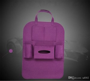 Wholesale Car Seat Back Cover Storage Bag Backseat Novel Holder Pockets Multi Color Auto Accessories Easy Carry Small ck cc