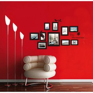 Wholesale New Design Photo Frame Wall Decals Vinyl Wall Stickers Home Decor Every Moment Of Life