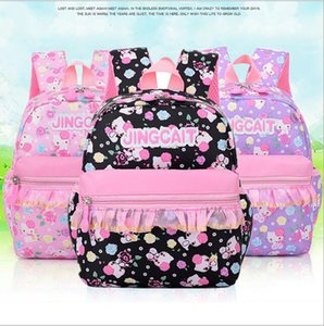 Wholesale girl children books for sale - Group buy hot new children school bags for teenagers boys girls big capacity school backpack waterproof satchel kids book bag color size