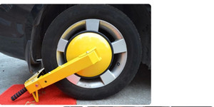 Wholesale sucking disc type double row lock core alarm Car Wheel Tire Clamp Anti Theft lock car