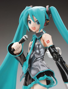 Wholesale Eco Friendly Anime Hatsune Miku Pvc Action Figure Kids Toys Brinquedos Japan Anime Model Collection Gift quot cm