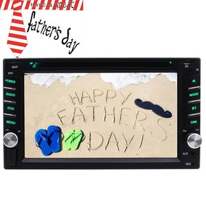 Wholesale best radio player for sale - Group buy The best gift for my fathe car radio Car DVD player autoradio car pc in dash USB AUX in Subwoofer Steering wheell