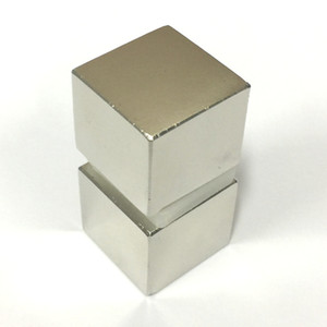 2PCS Super Strong magnet N52 Rare Earth Neodymium Magne Block 25x25x22mm Rare Earth Neo Neodymium neodymium magnetic Materials block