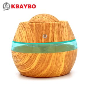 KBAYBO 300ML USB Aromatherapy Essential Oil Diffuser Car Portable Mini Ultrasonic Cool Mist maker Aroma Air Humidifier For Home