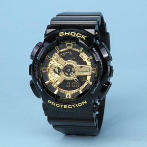 Wholesale Top High Quartz G Style Shock Wristwatches Men New Arrival Oudoor Led Swimming Watches Digital Analog Mens Multifunction Sports Watche