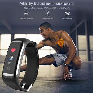 Smart Activity Trackers SANDA M4 Sports Smart Wristbands 24 Hours Heart Rate Monitor Sleep Tracker Phone Find 20m Waterproof