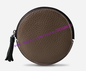 Top Quality Brown Monno Canvas Coated Real Leather ROUND COIN PURSE M61926 Women Zippy Coin Wallet