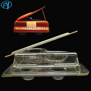 New Plastic PIANO Shape Chocolate Mold 3D DIY Handmade Cake Candy Mold Vehicle Chocolate Making Tool Cake Decorating molds