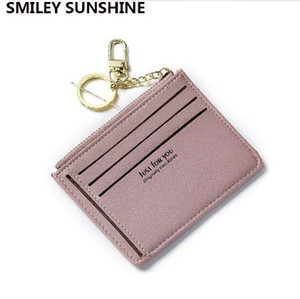 Wholesale SMILEY SUNSHINE fashion business id credit card holder women bank card case cardholder female slim wallet for cards porte carte
