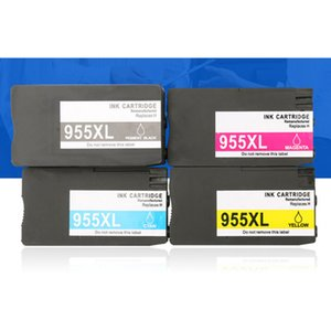 Large Capcity Black color 955XL Refillable Ink Cartridge for HP officejet pro 8210 7740 8210 8710 8720 8725 8730 8740 drop ship on Sale
