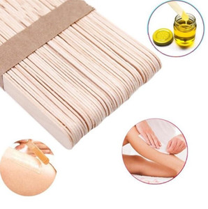 Wholesale Wooden Spatulas Body Hair Removal Sticks Wax Disposable Salon Hair Epilation Stick Tools Pretty Wax Waxing Sticks
