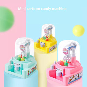 Wholesale coins machine resale online - 2018 new fun mini candy machine mini grasping machine no coins no batteries board game for boy girl gift