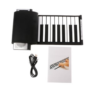 Wholesale Portable Roll Up MIDI Soft Keys Flexible Electronic Piano Music Keyboard New