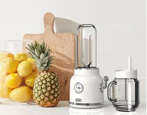 Wholesale ECX Fruits juice extractor retro automatic home portable Fruits juice machine ice cream juicer fruit bumper