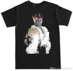 Hot Cheap'S Crew Neck Short King Flair Ric The Rock Pro Wrestling Premium Mens Tee Shirts