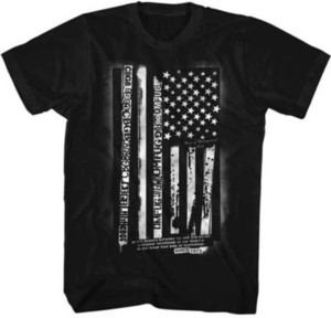 CBGB & OMFUG Home Of Underground Rock American Flag Adult T Shirt Brand 2018 New T Shirt Man Cotton