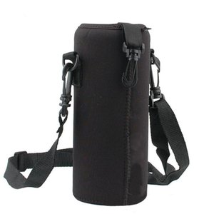 Wholesale 1000ML Water Bottle Cover Bag Pouch Water Bottle Carrier Insulated Bag Pouch Holder Shoulder Strap Bicycle Riding Accessories