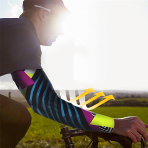 Wholesale Adult Sports Arm Sleeves Cover Compression Arm Sun UV Protection Running Cycling Basketball Golf Elbow Sleeves
