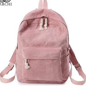 Wholesale 2018 New Women Backpack Fashion School For Teenage Girls Cute Student Backpacks Velour Casual Ladies Schoolbag mochila