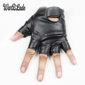 Wholesale WarBLade years kids gloves boys girls leather golves half fingerless glove half finger children sport waterproof mittens