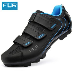 Wholesale FLR cycling shoes mtb man racing bicycle MTB shoes mountain bike sneakers professional self-locking breathable F55 loculated
