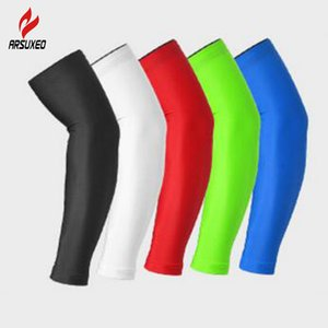 Wholesale Arm Sleeve Cycling Arm Warmers MTB Bike Bicycle Sleeves Armwarmer UV Protection Cuff Sleeves Basketball Running Golf Arm Sleeves