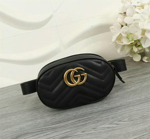 37bae8dd0 Wholesale Wholesale-Free Shipping Design Waist Bag Black cowhide Heart  waist Bags wallet Women Red
