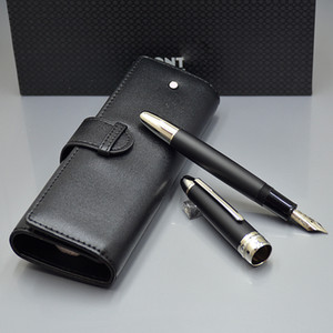 Top luxury Meistersteks 149 thicker barrel classical MB Fountain pen Monte brand write ink set pens with pen bag Best Christmas gift for man