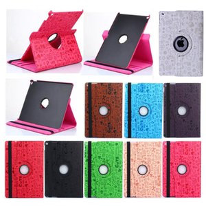 Wholesale Cute Magic Girl Rotating Flip PU Leather Smart Stand Case For New iPad Pro Air Air2 Mini