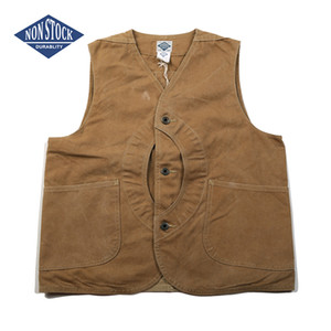 Wholesale NON STOCK Duck Canvas Game Pocket Vest Vintage Outdoor Men s Hunting Jacket