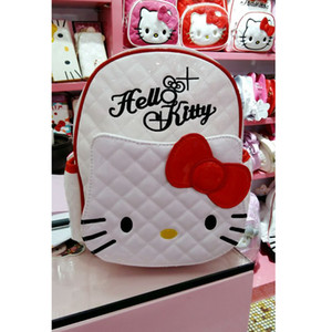 Wholesale High Quality Hello Kitty Plush Backpack Girls Boys Mouse School Bags Cartoon Kids Boys Girls School Backpack Child Schoolbags