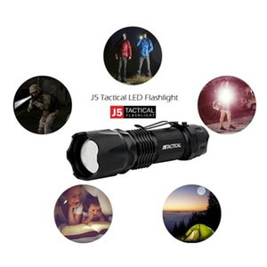 Wholesale J5 Tactical V1 PRO Lumen Ultra Bright Flashlight with logo High Quality good