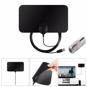 Indoor Free Digital TV Antenna HDTV Antena TV Radius Aerial Surf HD Fox VHF UHF DVB-T2 Analog Interior Antennas Amplifier