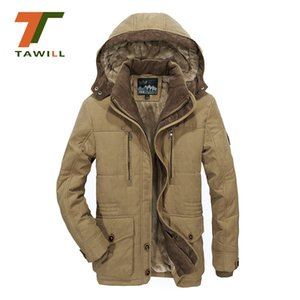 Wholesale Plus Size L XL6XL Winter Men Outwear Thick Jacket Man Snow Parka Coat indbreak Men Overcoat Brand Clothing