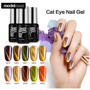 7ML Chameleon Magnet UV Nail Gel Polish Shiny Cat Eyes UV Nail Gel Lacquer Soak Off Magnetic Effect UV Gel Varnishes