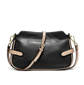 Wholesale Pure Leather Women Bags Hot Sale Cowhide Shoulder Bag Fashion Stylish Flap Bags Birthday Gift