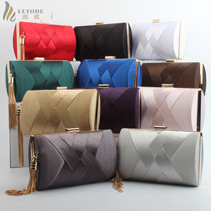 Fashion Womens Bags Wallet Clutch Evening Bag Luxury Handbags Banquet Wedding Pouch Party Shoulder & Crossbody Bags Purse Tassel Y18103003