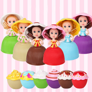 Wholesale Mini Beautiful Cake Doll Toy Cupcake Princess Doll Toys for Children Kid Transformed Scented Girls Funny Game Gift