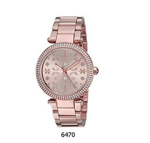 2018 Best Gifts Chronograph Women Ladies Watch With box And Certificate 6470 Smart slectronics