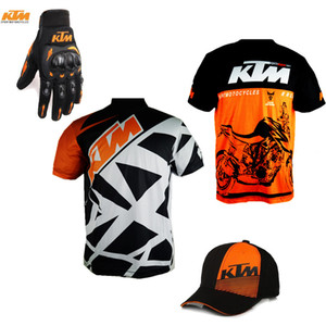 Wholesale Motorcycle For KTM Jersey Men's Quick-Drying Camiseta Motorbike Cycling Off-Road T-Shirt Short Tee Breathable ATV MX Moto Sports