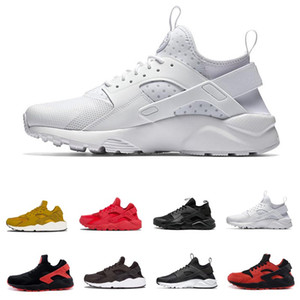 Huarache 4.0 1.0 Classical Triple White Black red mens women Huaraches Shoes Huaraches sports Sneakers Running spikes track Shoes on Sale
