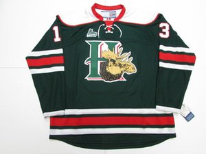 #13 NICO HISCHIER Halifax Mooseheads Ice Hockey Jerseys Mens Stitched Custom any number and name on Sale